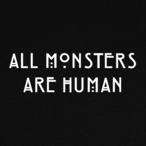 Camisetas ALL MONSTERS ARE HUMAN
