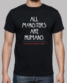 All monsters are humans AHS