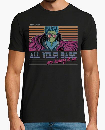 Tee-shirt all votre base sont appartiennent à nous