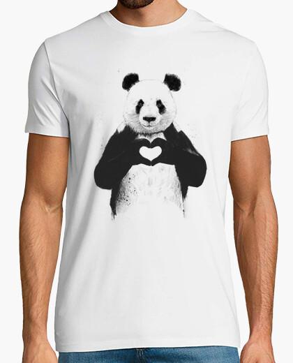 Tee-shirt all vous avez besoin est amour