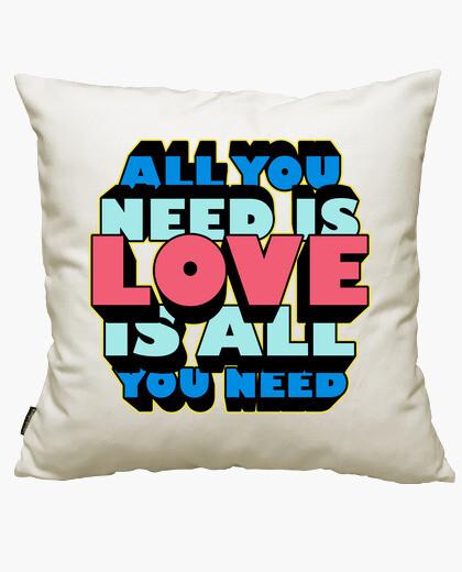 Housse de coussin all vous avez besoin est l' amour est all que vous avez besoin
