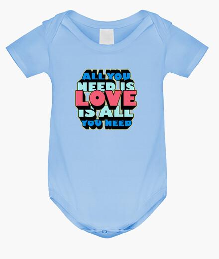 Vêtements enfant all vous avez besoin est l' amour est all que vous avez besoin