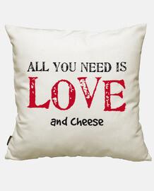all you ha bisogno è l'amore ... e formaggio