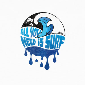 T-shirt ALL YOU NEED IS SURF