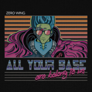Camisetas All Your Base Are Belong To Us
