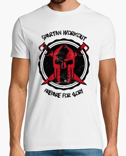 T-shirt allenamento spartan