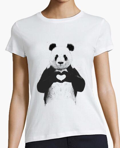 T-Shirt alles, was sie brauchen, ist liebe