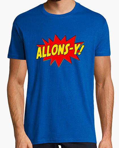 Tee-shirt Allons-Y!