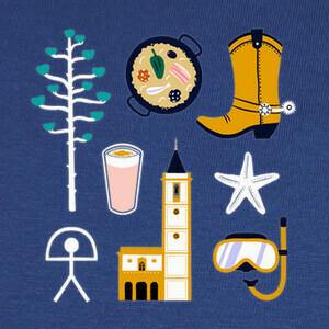 Camisetas Almería mix