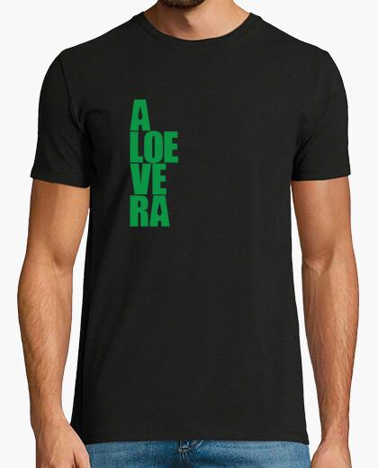 Camiseta aloe vera - guarde la calma y utilizar el aloe vera