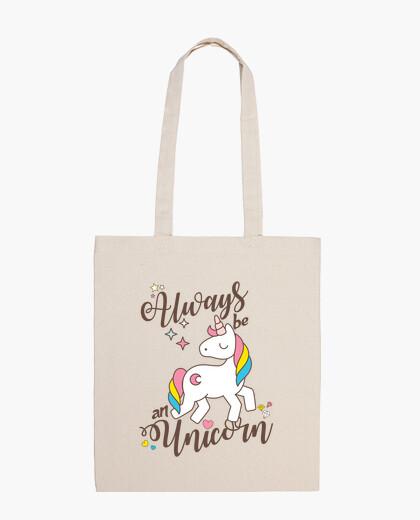 Always be an unicorn bag