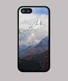 Ama Dablam peaks, Himalaya