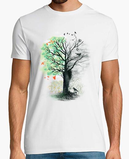 T-shirt Amano il paesaggio  verso la morte