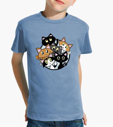 Vêtements enfant amant de chat - amoureux de les chats
