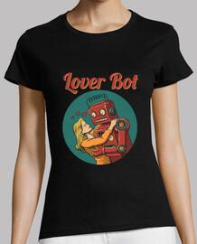 amante bot camiseta mujer