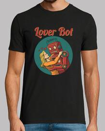 amante bot camiseta para hombre