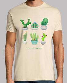 amante de los cactus lindo