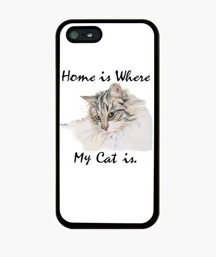 Funda iPhone amante de los gatos