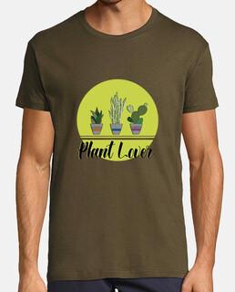 amante delle plant . uomini, manica corta, esercito, qualità extra