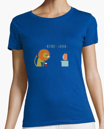 Camiseta amante retro