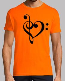 Amantes de la música (en negro)