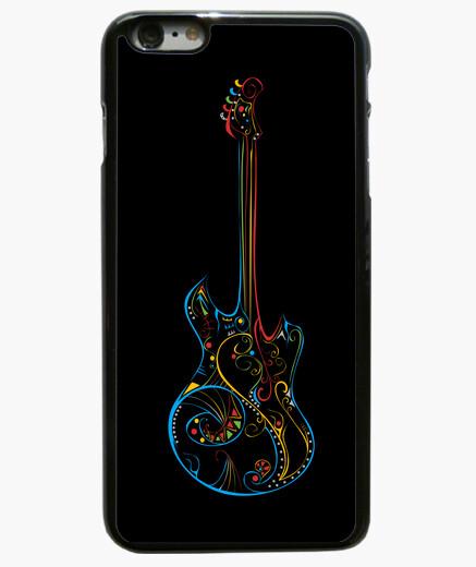 Funda iPhone 6 Plus / 6S Plus amar a la guitarra la música de color