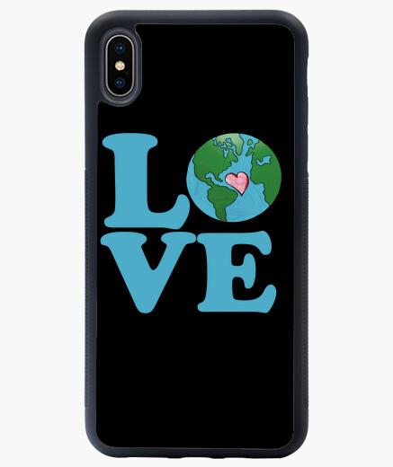 Funda iPhone XS Max amar el arte del día de la tierra