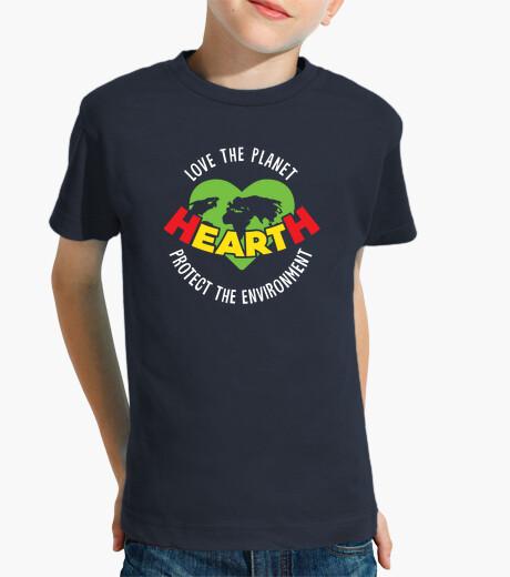 Ropa infantil amar el planeta proteger el medio ambiente