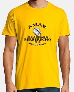 AMAR es a lo que sabe el berberecho de la Ría de Noia