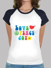 amare la pace gioia illustrazione
