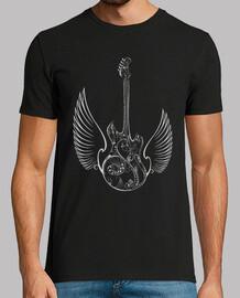 amare le ali di chitarra di musica