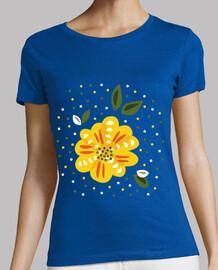 amarilla flor de la primavera