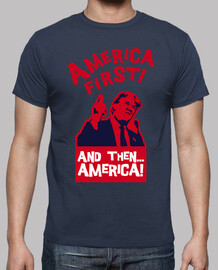 america first and then a america