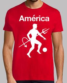 America y Diablo Grande rojo