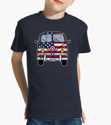 Vêtements enfant américaine van cru