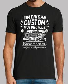 american custom motorcycle