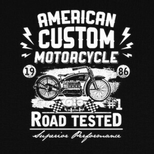 American Custom Motorcycle T-shirts