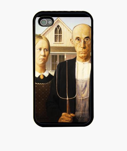 Funda iPhone American Gothic - Wood