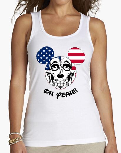 Camiseta American Mickey black