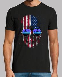 american skull dj