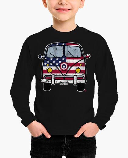 American van vintage children's clothes