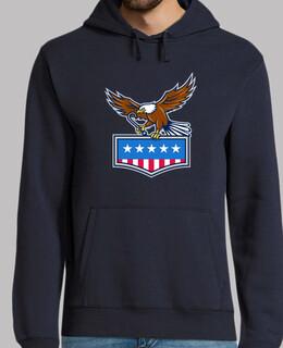amerikanischer Adler der j-Haken USA-Fl