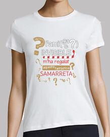 AMIC AMIGA INVISIBLE Samarreta màniga curta dona