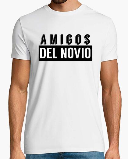 Camiseta Amigos del novio