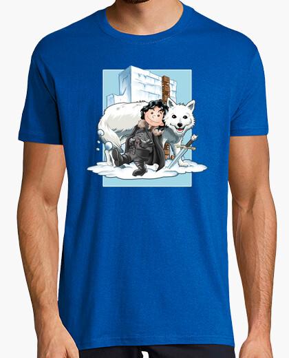 Tee-shirt amis sur la ice