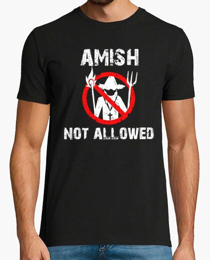 Camiseta amish