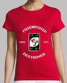 amistad destructor camisetas