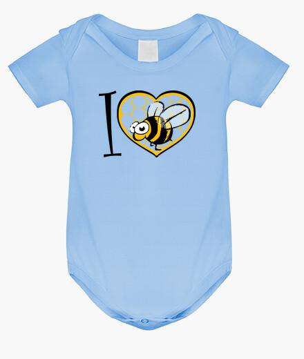 Ropa infantil amo a la abeja
