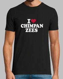amo a los chimpancés