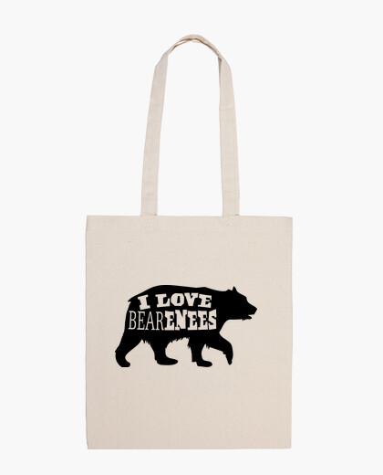 Bolsa amo a los osos de oso